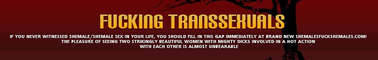 Fucking Transsexuals